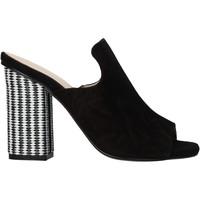 Chaussures Femme Sandales et Nu-pieds Carmens Padova 41489 Noir