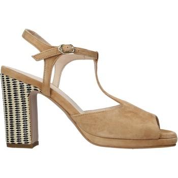 Chaussures Femme Sandales et Nu-pieds Carmens Padova 45085 Marron