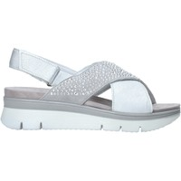Chaussures Femme Sandales et Nu-pieds Enval 7283511 Gris