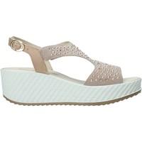 Chaussures Femme Sandales et Nu-pieds Enval 7280122 Beige