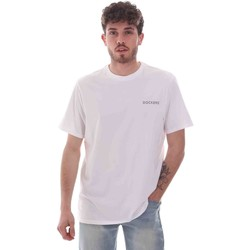Vêtements Homme T-shirts manches courtes Dockers 27406-0115 Blanc