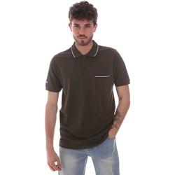 Vêtements Homme Polos manches courtes Key Up 2Q827 0001 Vert