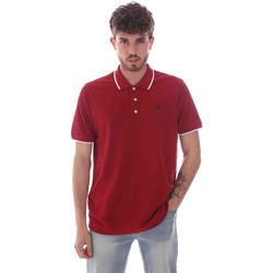 Vêtements Homme Polos manches courtes Key Up 2Q711 0001 Rouge