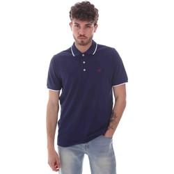 Vêtements Homme Polos manches courtes Key Up 2Q711 0001 Bleu