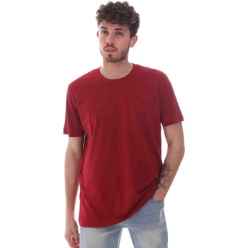 Vêtements Homme T-shirts manches courtes Key Up 2M915 0001 Rouge