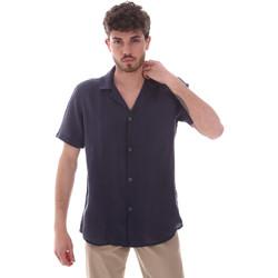 Vêtements Homme Chemises manches courtes Sseinse CE588SS Bleu