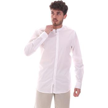 Vêtements Homme Chemises manches longues Sseinse CE639SS Blanc