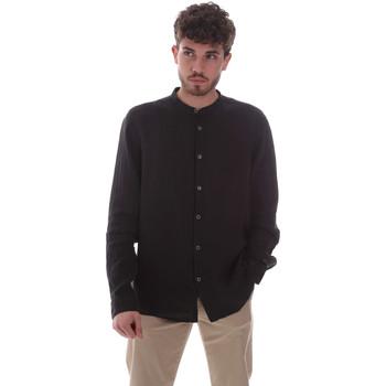 Vêtements Homme Chemises manches longues Sseinse CE643SS Noir