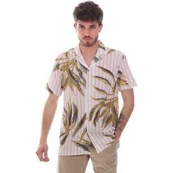 Vêtements Homme Chemises manches courtes Sseinse CE661SS Beige