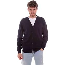 Vêtements Homme Gilets / Cardigans Sseinse ME1831SS Bleu