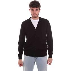 Vêtements Homme Gilets / Cardigans Sseinse ME1831SS Noir
