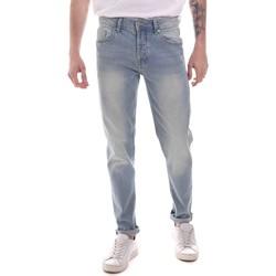 Vêtements Homme Jeans droit Sseinse PJE760SS Bleu