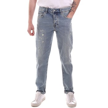 Vêtements Homme Jeans droit Sseinse PJE764SS Bleu