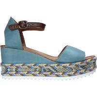 Chaussures Femme Sandales et Nu-pieds Bueno Shoes 21WQ6000 Bleu