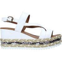 Chaussures Femme Sandales et Nu-pieds Bueno Shoes 21WQ6002 Blanc