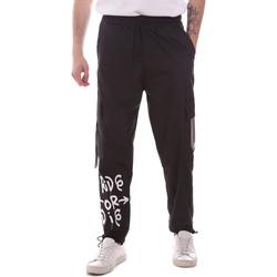 Vêtements Homme Pantalons cargo Disclaimer 21EDS50560 Noir