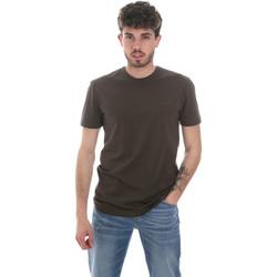 Vêtements Homme T-shirts manches longues Antony Morato MMKS01855 FA120022 Vert