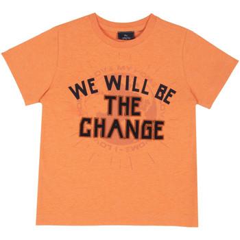 Vêtements Enfant T-shirts manches courtes Chicco 09067318000000 Orange