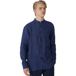 Vêtements Homme Chemises manches longues Trussardi 52C00154-1T002248 Bleu