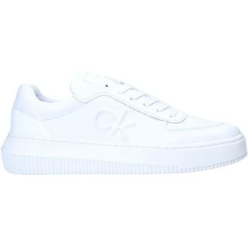 Chaussures Femme Baskets basses Calvin Klein Jeans YW0YW00065 Blanc