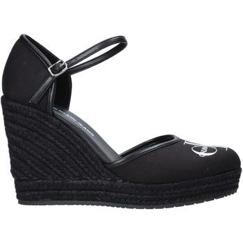 Chaussures Femme Sandales et Nu-pieds Calvin Klein Jeans YW0YW00150 Noir