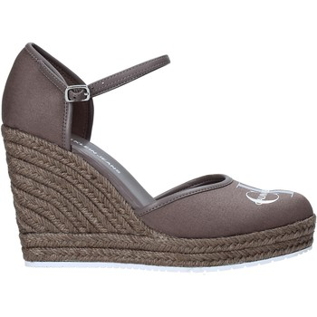 Chaussures Femme Sandales et Nu-pieds Calvin Klein Jeans YW0YW00150 Gris