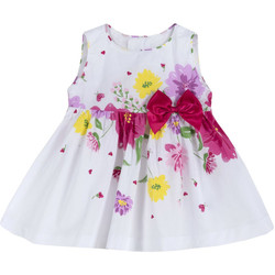Vêtements Fille Robes courtes Chicco 09003900000000 Blanc