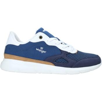 Chaussures Homme Baskets basses Wrangler WM11050A Bleu