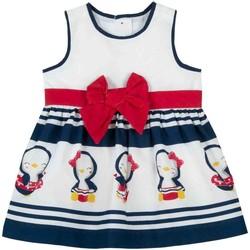 Vêtements Fille Robes courtes Chicco 09003809000000 Blanc