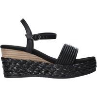 Chaussures Femme Sandales et Nu-pieds Café Noir XA9201 Noir