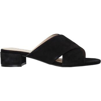 Chaussures Femme Mules Café Noir XG5156 Noir