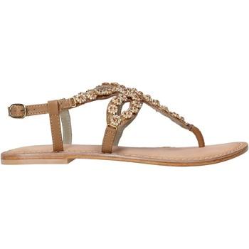 Chaussures Femme Sandales et Nu-pieds Café Noir XB1090 Marron