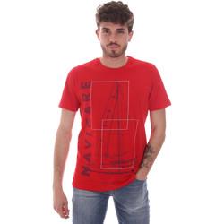 Vêtements Homme T-shirts manches courtes Navigare NV31109 Rouge