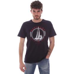 Vêtements Homme T-shirts manches courtes Navigare NV31113 Bleu