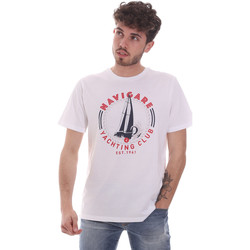 Vêtements Homme T-shirts manches courtes Navigare NV31113 Blanc