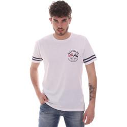 Vêtements Homme T-shirts manches courtes Navigare NV31123 Blanc