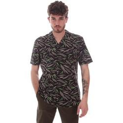Vêtements Homme Chemises manches courtes Antony Morato MMSS00168 FA430474 Noir