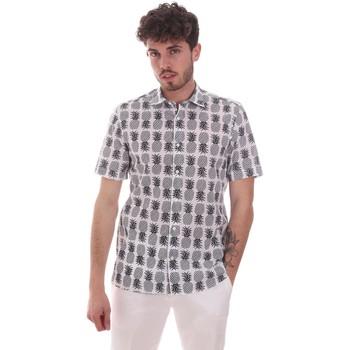 Vêtements Homme Chemises manches courtes Antony Morato MMSS00169 FA430473 Blanc
