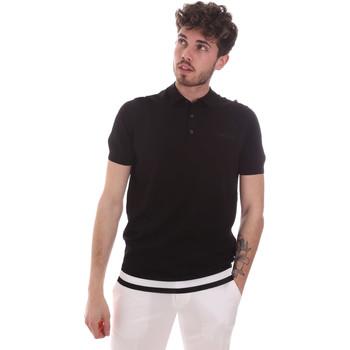 Vêtements Homme Polos manches courtes Antony Morato MMSW01174 YA500057 Noir