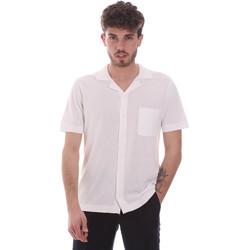 Vêtements Homme Chemises manches courtes Antony Morato MMSW01183 YA100063 Blanc
