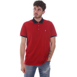 Vêtements Homme Polos manches courtes Navigare NV72058 Rouge