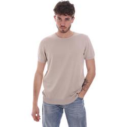 Vêtements Homme T-shirts manches courtes Gaudi 111GU53004 Beige
