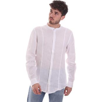 Vêtements Homme Chemises manches longues Gaudi 111GU45006 Blanc
