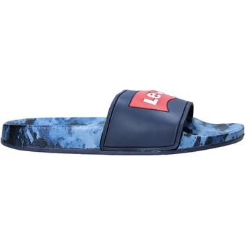 Chaussures Enfant Claquettes Levi's VPOL0070S Bleu