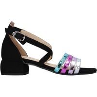 Chaussures Femme Sandales et Nu-pieds Carmens Padova 45060 Noir