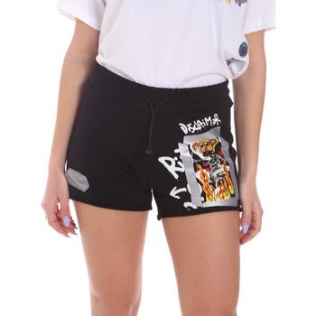 Vêtements Femme Shorts / Bermudas Disclaimer 21EDS50650 Noir