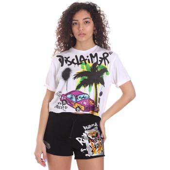 Vêtements Femme Shorts / Bermudas Disclaimer 21EDS50639 Blanc