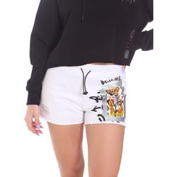 Vêtements Femme Shorts / Bermudas Disclaimer 21EDS50650 Blanc