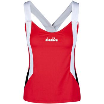 Vêtements Femme Débardeurs / T-shirts sans manche Diadora 102175658 Rouge