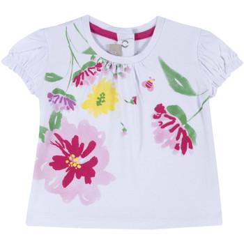 Vêtements Fille T-shirts manches courtes Chicco 09067270000000 Blanc